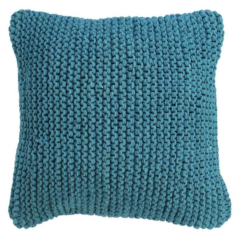Calm waters cushion teal 45 X 45cm
