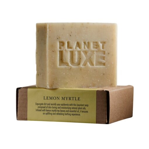 Planet luxe lemon myrtle soap