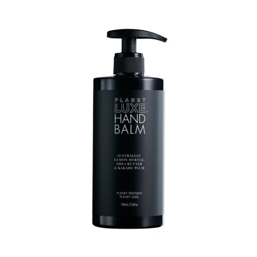 Planet luxe hand balm lemon myrtle