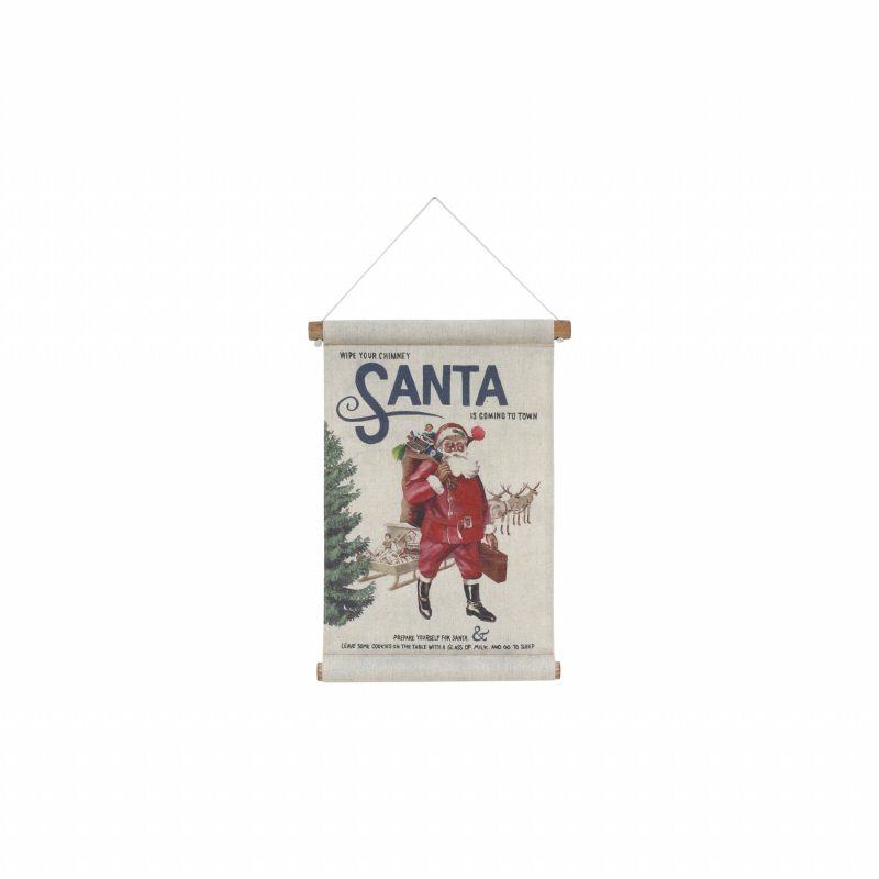 santa wall hanging hk living