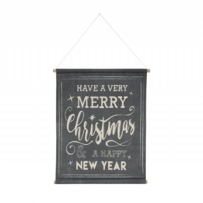 merry christmas wall chart hk living