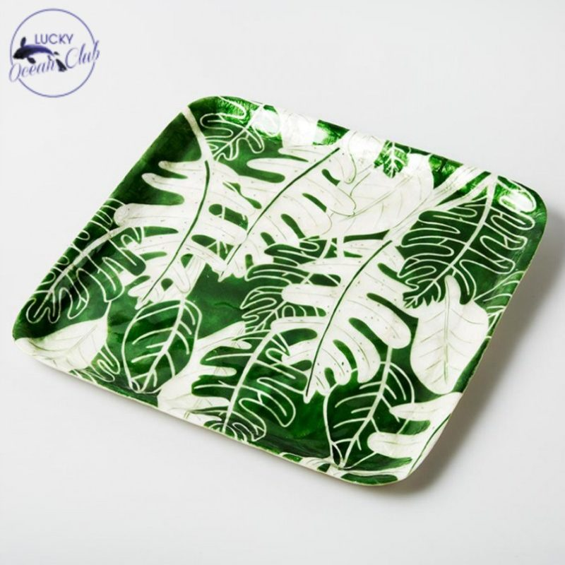green leaf tray island collective