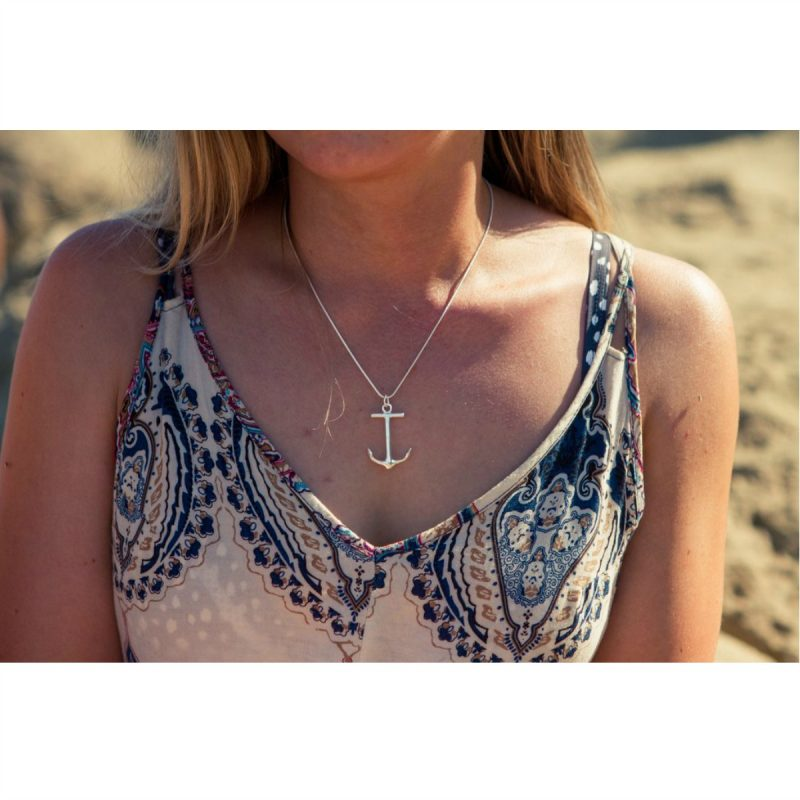 anchor necklace island collective