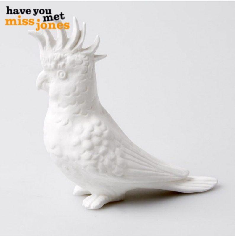 mini cockatoo ornament island collective