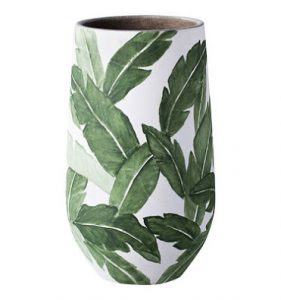 christmas gift ideas palm leaf vase