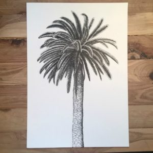 christmas gift ideas palm tree print beamer