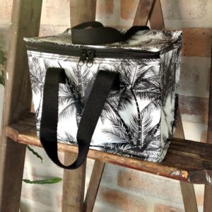 christmas gift ideas palm tree bag black handles