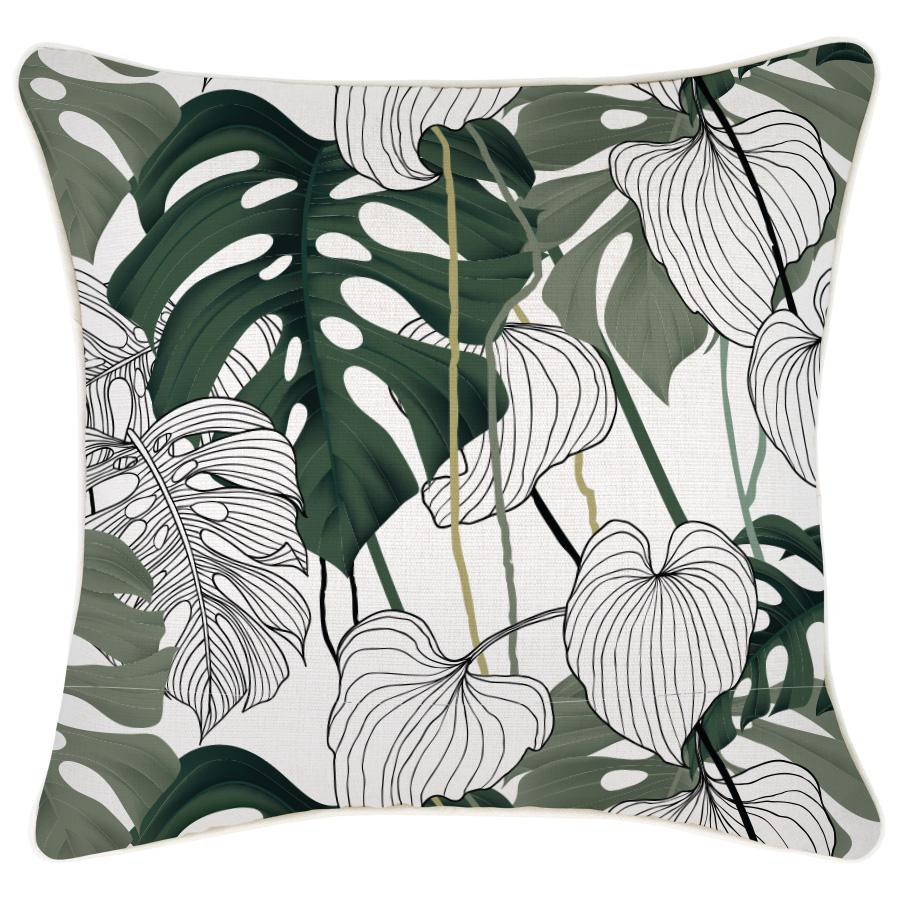 Kona Indoor Outdoor Cushion Cover 45 X45cm Escape To Paradise Island Collective